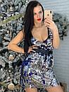 Платье-майка из пайетки двухсторонней 58plt2166, фото 2