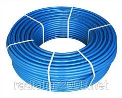 Труба полиэтиленовая синяя 63 PN 10