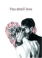"Валентинка ""love You smell"""