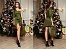 Платье короткое с одним рукавом 31plt2207, фото 2