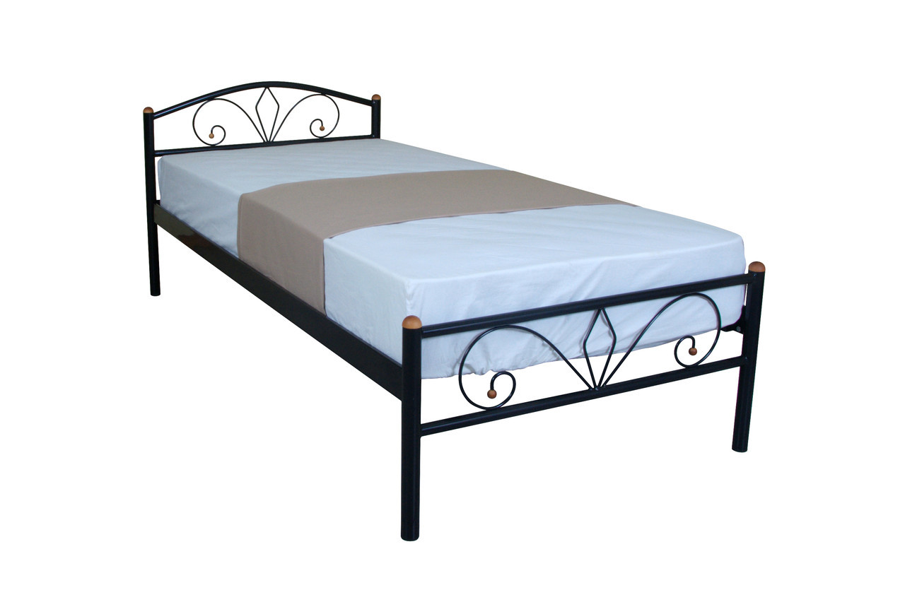 Односпальная кровать из металла Лара Люкс
