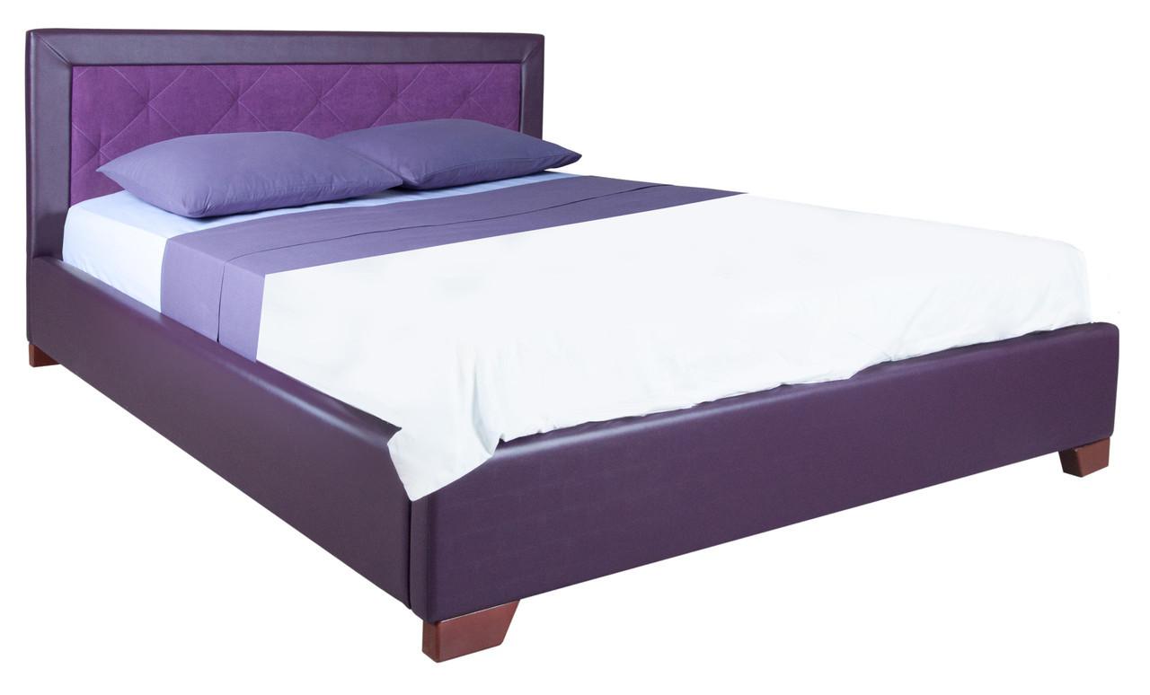 Красивая мягкая двуспальная кровать Флоренс