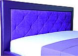 Ліжко з шухлядами для білизни двоспальне з підйомним механізмом Флоренс, фото 4