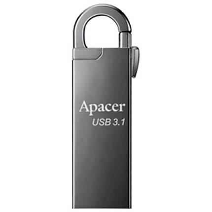 USB флеш накопитель Apacer 32GB AH15A Ashy USB 3.1 (AP32GAH15AA-1), фото 2
