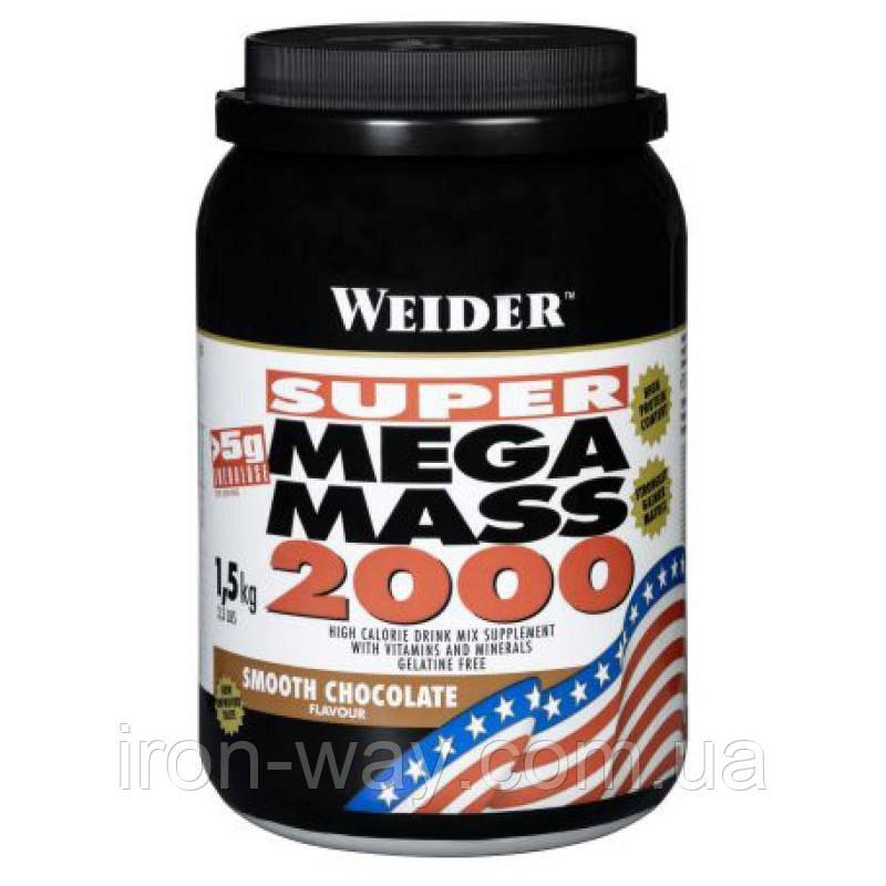 Weider Super Mega Mass 2000 1,5 kg (Печиво крем)