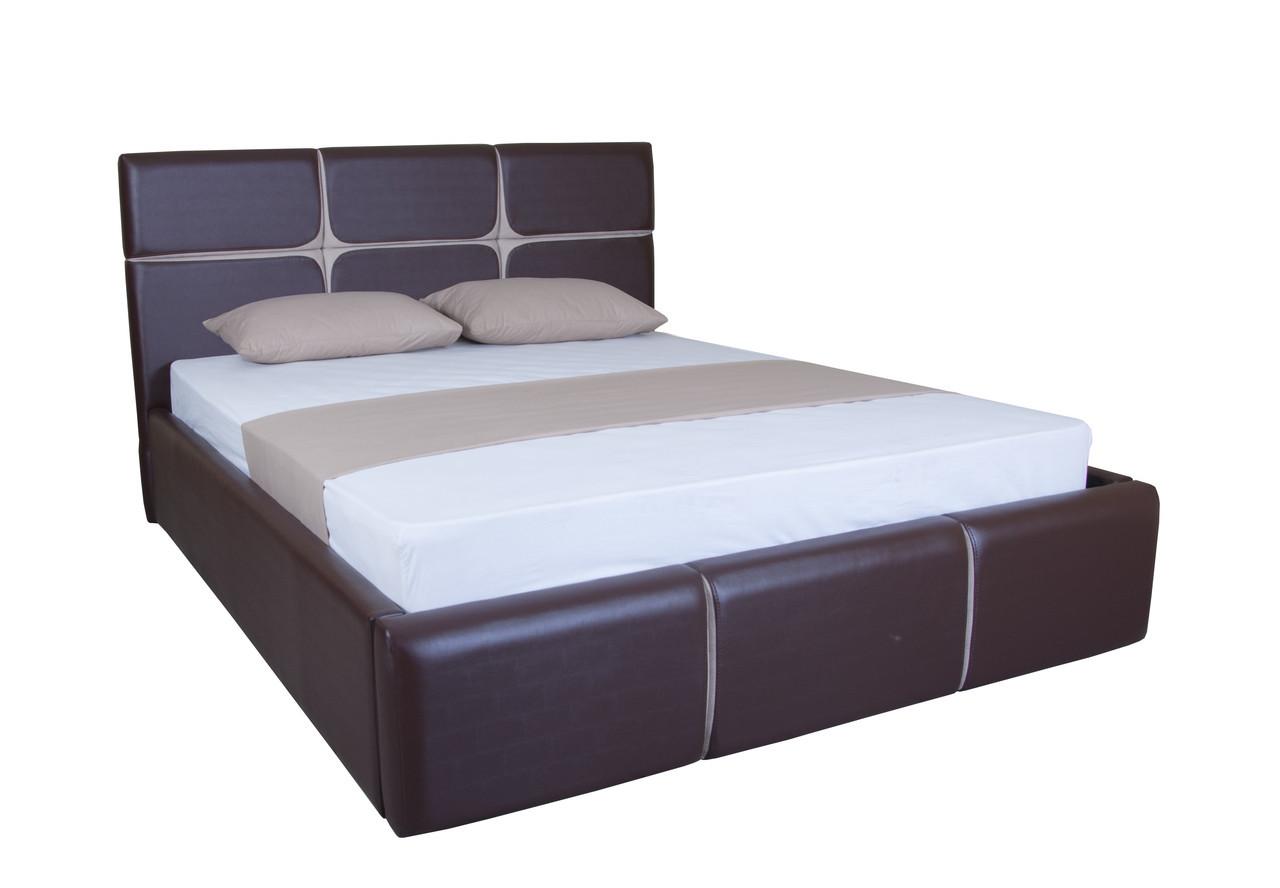 Кровать двуспальная с подъемным механизмом  в спальню  Стелла