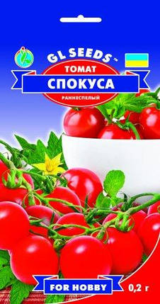 Томат Спокуса Черри, пакет 0,2г - Семена томатов, фото 2