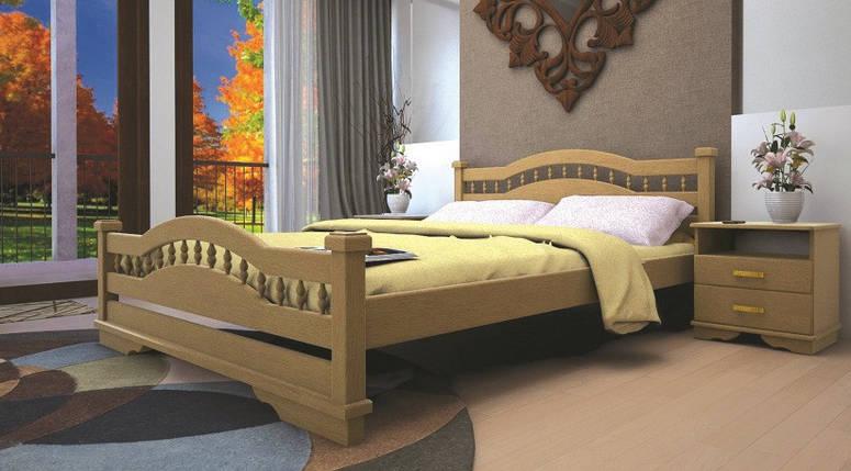 Ліжко Атлант-7, дерев'яна, фото 2