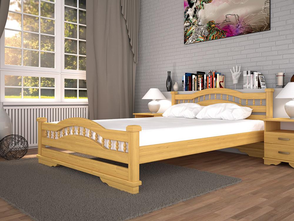 Ліжко Атлант-7, дерев'яна