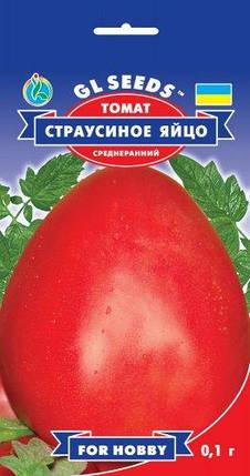 Томат Страусиное яйцо, пакет 0,1г - Семена томатов, фото 2