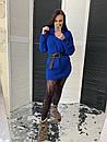 Женская туника вязаная с горловиной 58dis506, фото 3