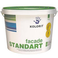 Краска Фасад Стандарт Колорит, базис С 9л
