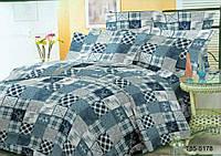 ✳ Полуторный комплект постельного белья / микросатин / Постільна білизна / 5A12C2 - 441