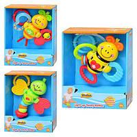 Развивающая игрушка погремушка Win Fun 2401: 3 вида, музыка + свет