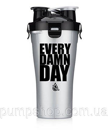 Шейкер Hydracup Dual Shaker Every Damn Day 800 мл, фото 2