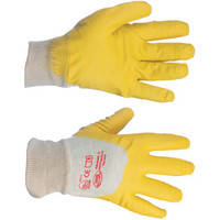 Рукавицы Intertool SP-0110 жёлтые