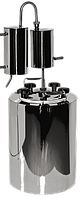 Дистиллятор бытовой из нержавейки с сухопарником на 14 литров