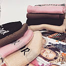 Женский набор шапка и длинный шарф 18gol172, фото 5