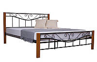Кровать Эмили двуспальная  190х160, бежевая