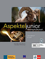 Aspekte junior. Mittelstufe Deutsch. Ubungsbuch B1 plus