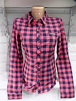 Рубашка женская весна-осень 9164 Китай оптом