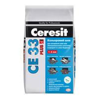 Затирка для швів Ceresit СЕ33plus 131 темно-коричневий 5кг