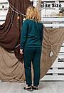 Спортивный женский костюм в больших размерах 6blr1314, фото 4