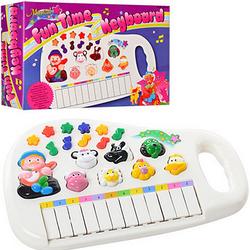 Детское музыкальное пианино с эффектами.Детское пианино животные.Развивающие игрушки.