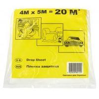 Плівка захисна малярна (4х5м) 20м ГАП, 7мкрн