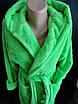 Молодежные махровые халаты с капюшоном., фото 3