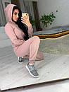 Вязаный женский костюм с капюшоном 41spt553, фото 2