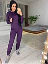 Вязаный женский костюм с капюшоном 41spt553, фото 3