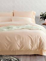 Евро комплект постельного белья Сатин Soft Peach (Полуторный, Двуспальный, Семейный) / 5A12C2 - 899