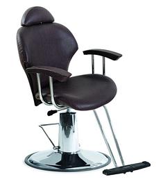 Кресло парикмахерское для barbershop Лоренцо Черное (Frizel TM)