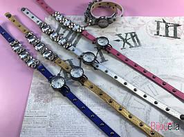 Женские часы с алмазами 19734 наручные стильные