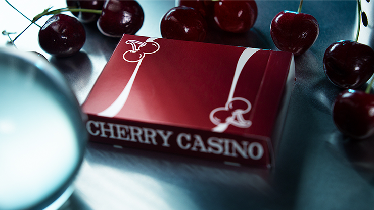 Карты игральные | Cherry Casino (Reno Red) Playing Cards By Pure Imagination Projects