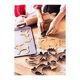 ИКЕА ДРОММАР Формочки для печенья, 6шт, серебристый, фото 3