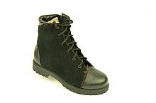 Ботинки на мальчика комбинированые натуральная кожа зимние и демисезонные от производителя KARMEN 34