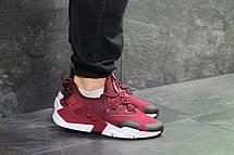 Мужские демисезонные  кроссовки Nike Air Huarache,бордовые 43,44р, фото 2