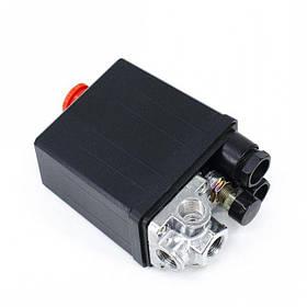 Прессостат 220В (блок автоматики компресора) 4 виходи Profline 21C