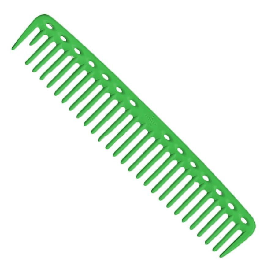 Расческа Y.S.Park YS 452 Big Hearted Combs для стрижки зеленый