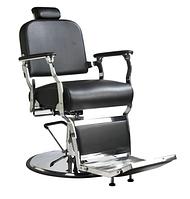 Кресло парикмахерское для barbershop Лорд 2 Черное (Frizel TM)
