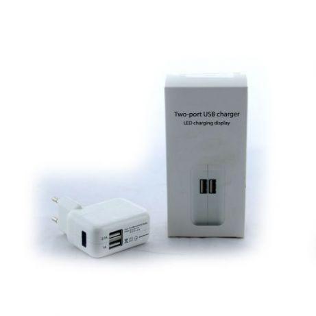 СЗУ адаптер 220V на 2USB для IPAD