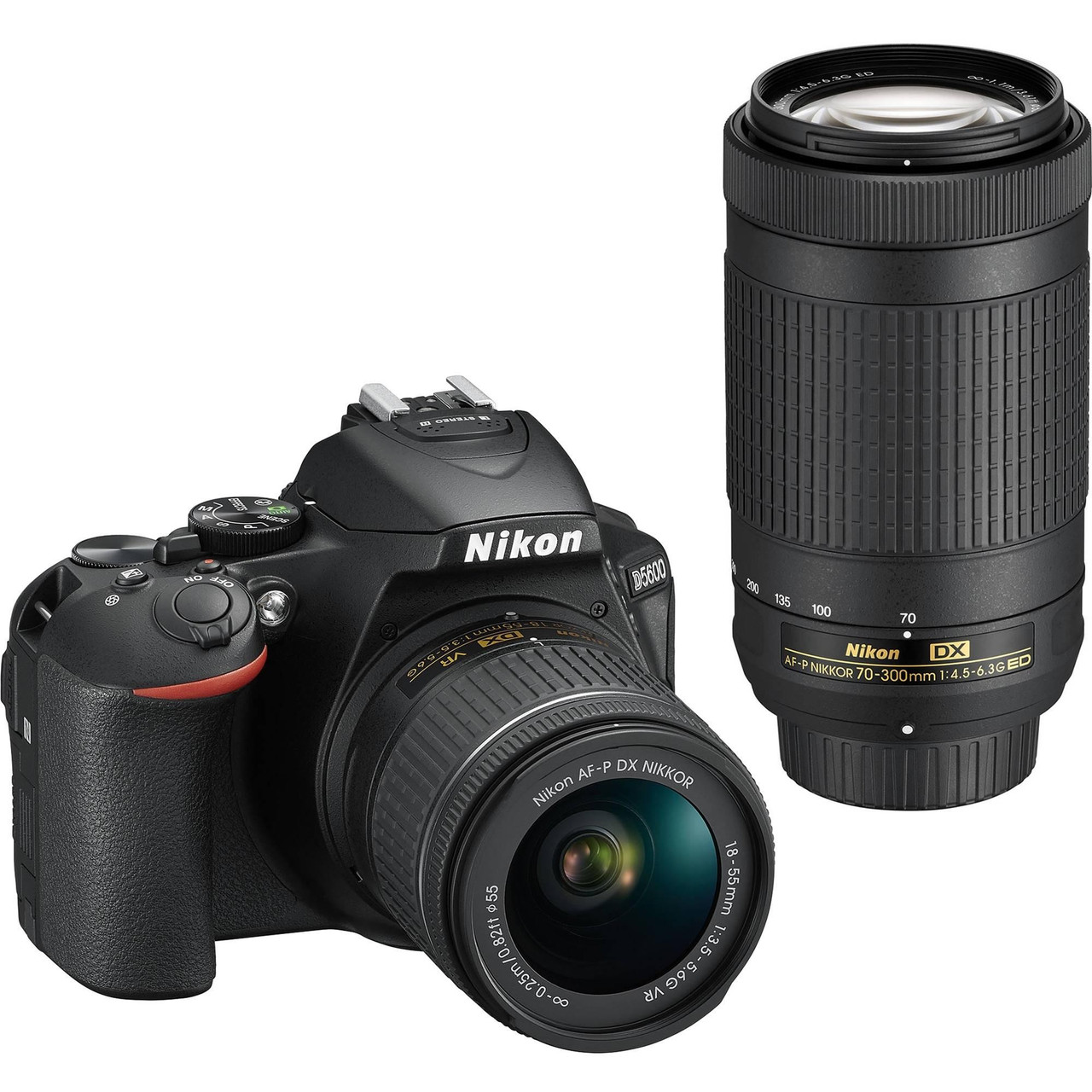 Зеркальный фотоаппарат Nikon D5600 kit (18-55mm+70-300mm)