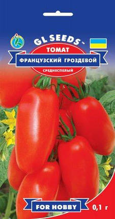 Томат Французкий гроздевой, пакет 0,1г - Семена томатов, фото 2