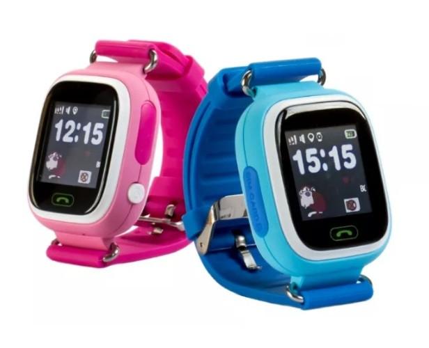 Детские умные часы-телефон с GPS и WiFi Smart Watch Q90