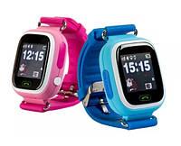 Детские умные часы-телефон с GPS и WiFi Smart Watch Q90 , фото 1