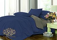 Семейный комплект однотонного постельного белья из сатина / Сімейний комплект постільної білизни / 7A12C2 - 2288