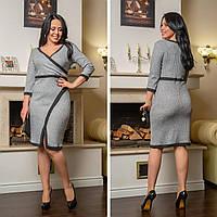 2a36560d131 Серебристое Блестящее Платье на Запах Из Трикотажа с Люрексом — в ...