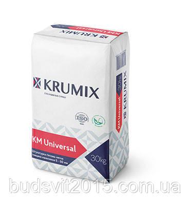 Штукатурка гіпсова Krumix KM Універсальний 30 кг